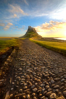 Lindisfarne castle road